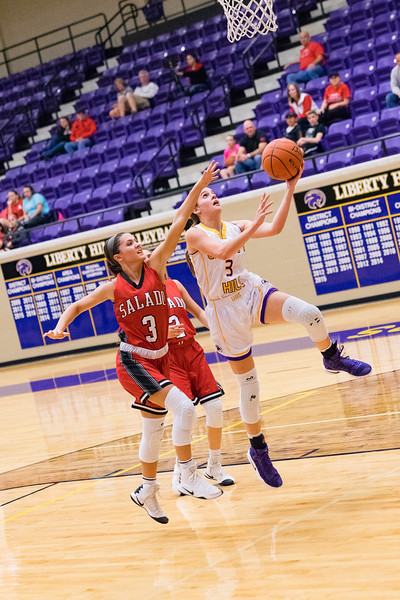 2017-01-31 - LHHS Girls BB vs Salado