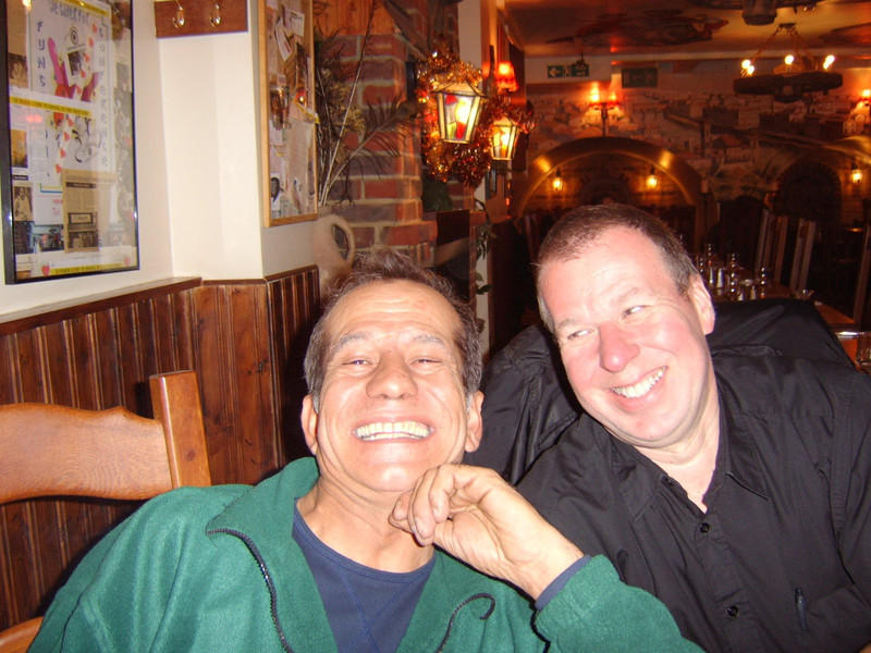 Steve & Jay Oxford Street Xmas 2006