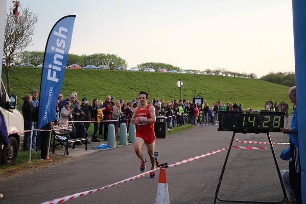 Finish 5k Scottish Champs 2016