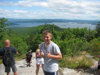 Ty's Mt Major Hike 7-5-12