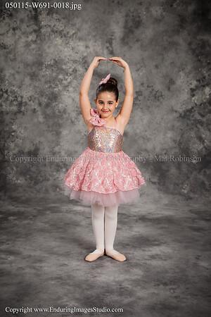 1 - Kinder Ballet - Mon 4:00