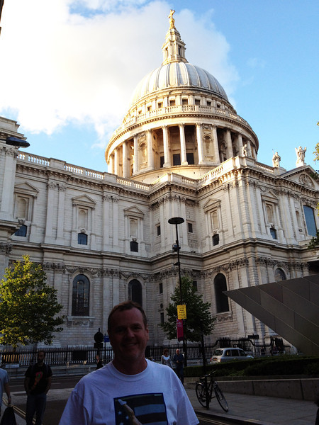 St. Paul's - Charles and Dianna married here. At 365', the tallest building in London until 1962.