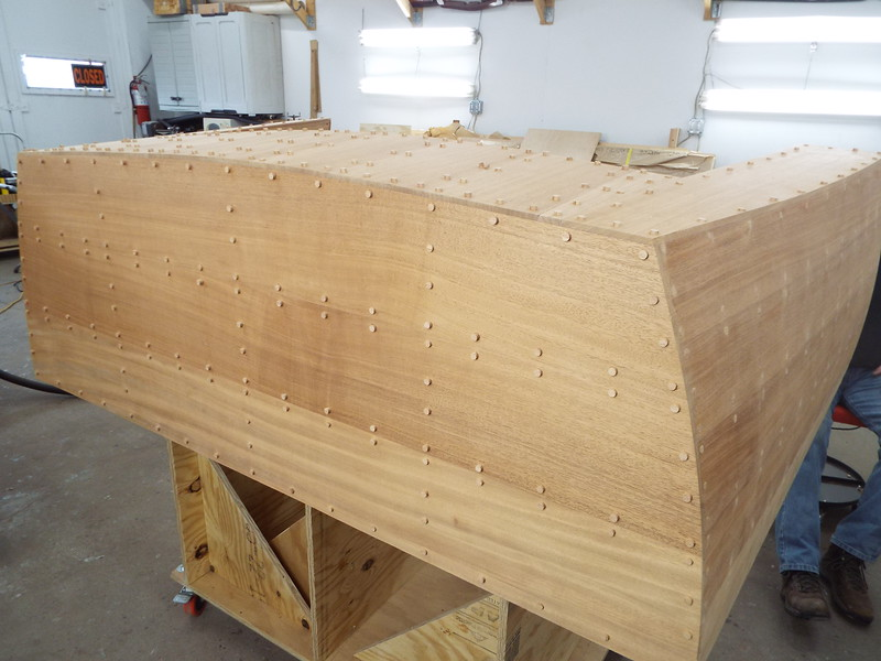 Transom with plugs.