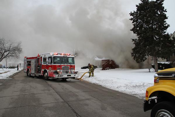 NORTHLAKE, IL BOX ALARM OF FIRE 412 LAPORTE (12-23-2010)