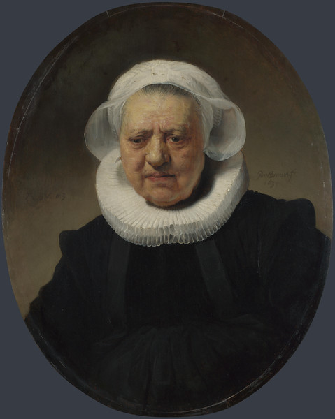 Portrait of Aechje Claesdr.