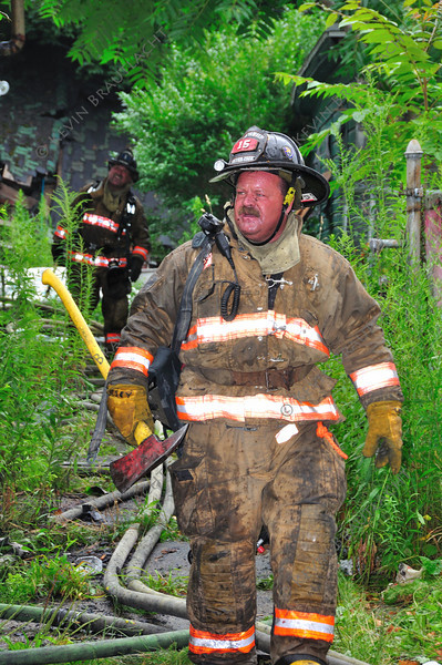 Firefighter Tab Casey from Ladder 15
