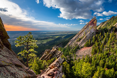 Boulder Flatiron Morning