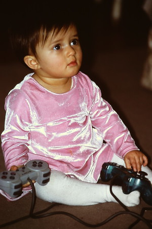 Jemima as Baby