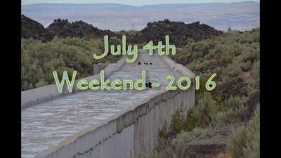 July 4th Weekend - 2016