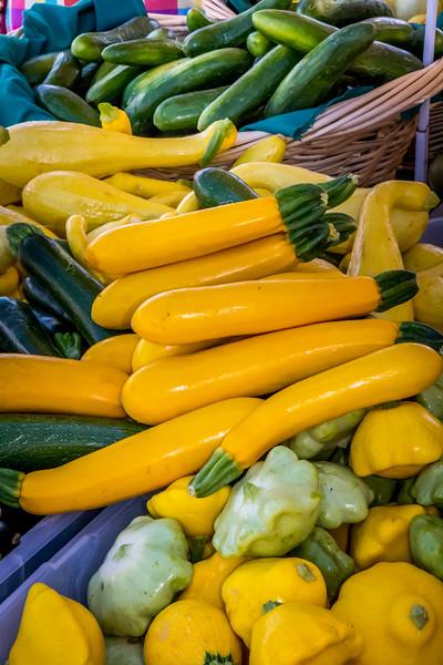 Colorful Yellow Squash
