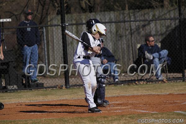 MS Baseball vs. High Point Christian 03-19-2013