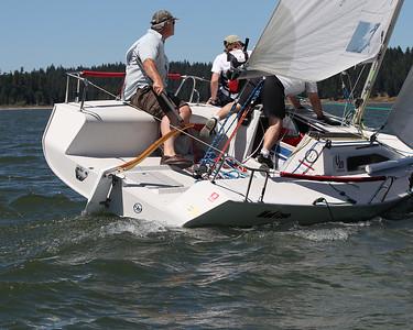 Saturday Sailing Action
