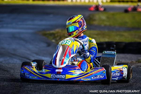 Motorsport Ireland Karting Championship 2019 - Round 2 - Galway - Alyx Coby