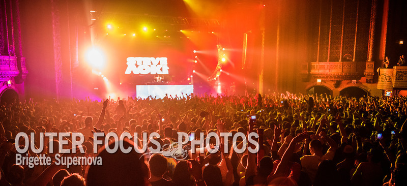 Steve Aoki at Congress Theater - Dec 2012