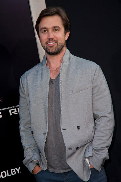 HOLLYWOOD, CA - JULY 09: Actor Rob McElhenney arrives at the premiere of Warner Bros. Pictures' and Legendary Pictures' 'Pacific Rim' at Dolby Theatre on Tuesday, July 9, 2013 in Hollywood, California. (Photo by Tom Sorensen/Moovieboy Pictures)