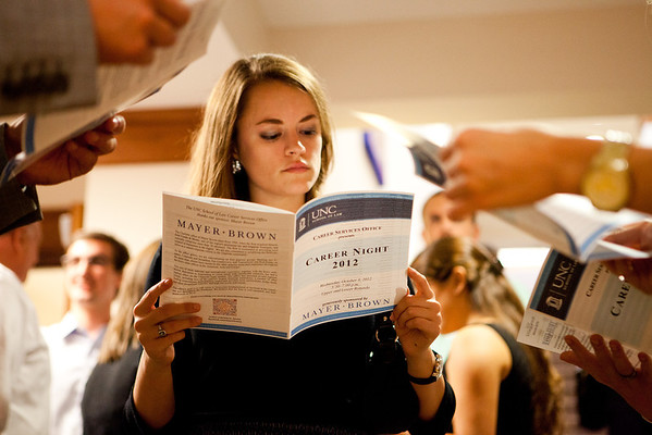 UNC Law School Career Night 2012