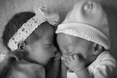 Baby Alexa & Baby Andrew, Jenn & Chris
