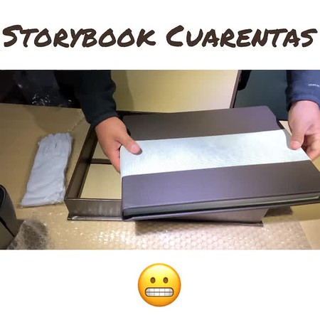 Book Cuarentas UNBOXING