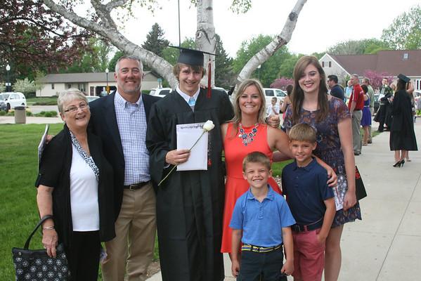 Ryley's Graduation & State Tennis