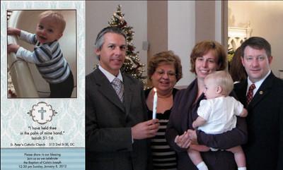 Calvin Joseph Siler Baptism