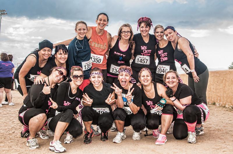 Dirty Girl Mud Run Team