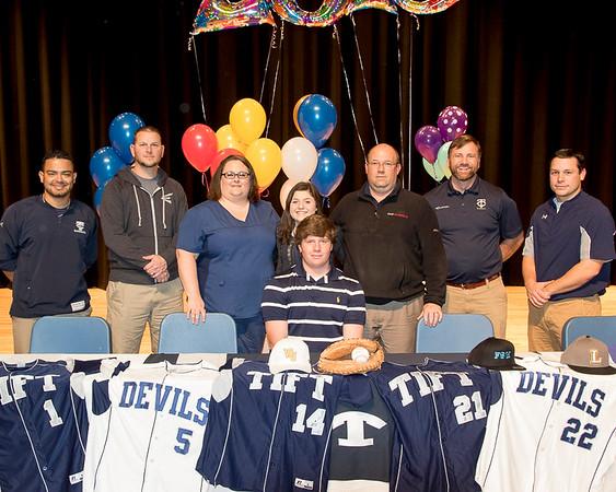2015 Signees -Tift County Baseball