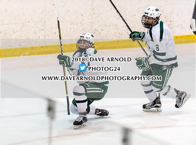 3/4/2018 - Boys Varsity Hockey - New Hampton vs Lawrence Academy