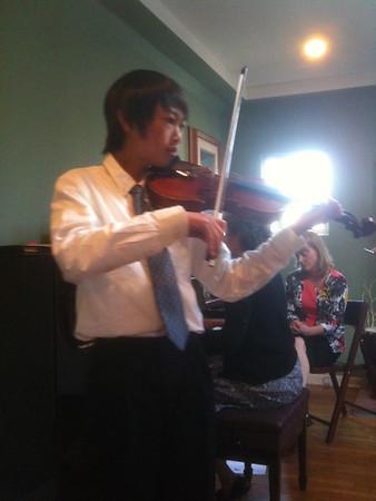 Violin Spring Solo recital 2010