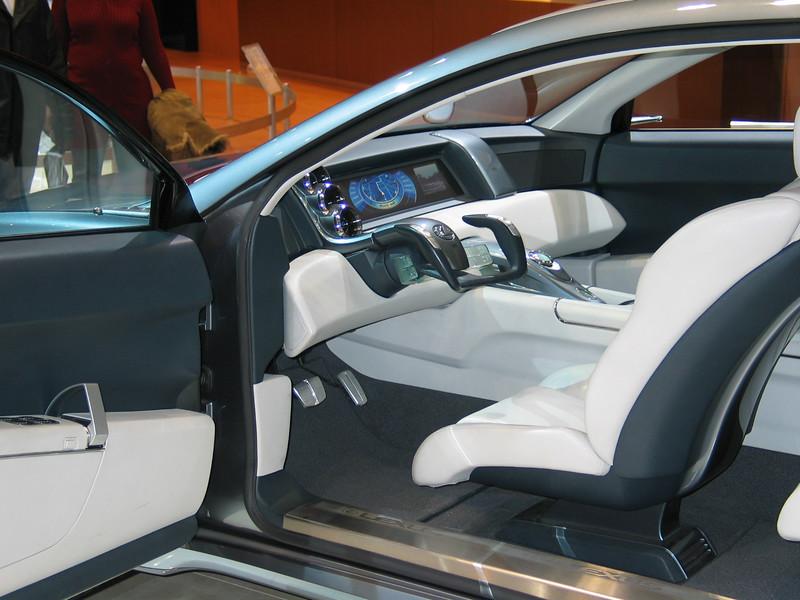 Lexus HPX Concept (interior)