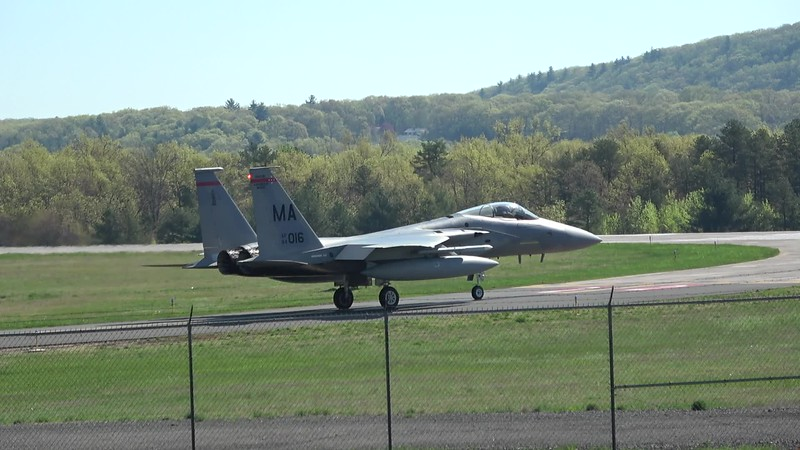 5-9-18...ten F-15s departing in the a.m....incl. JZ jets and one OR jet...shot from Lumberyard mound