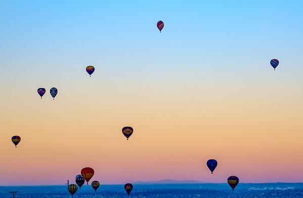 ABQ Intl Balloon Fiesta 2015 - October 10 Off Field