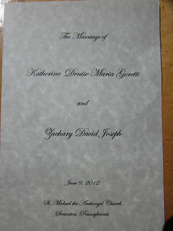 Wedding of Denise McWhirter and Zachary Miller