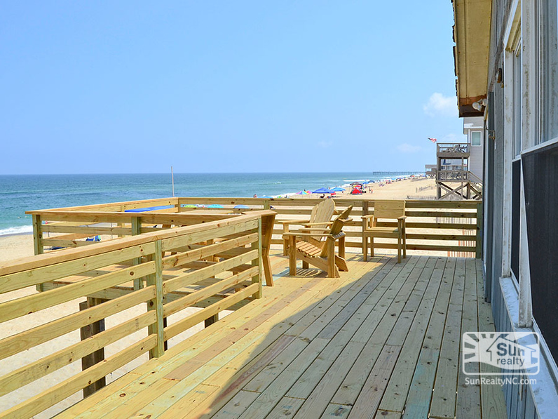 Brand New Oceanfront Deck