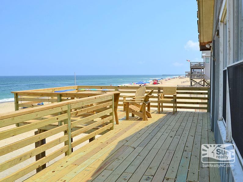 Brand New Oceanfront Deck