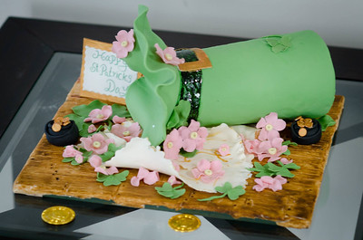 St Patrick Hat Cake