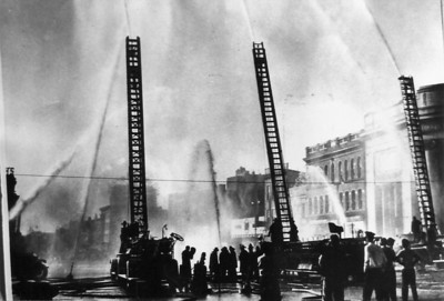 Fire Prevention Demonstration 1949