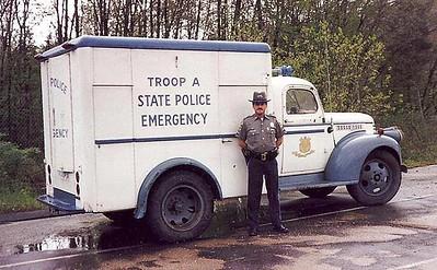 1942 Troop A Police Truck Restoration