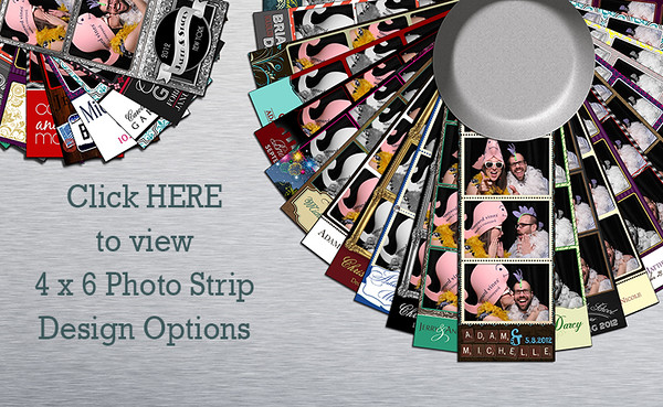4 x 6 Photo Strip Designs