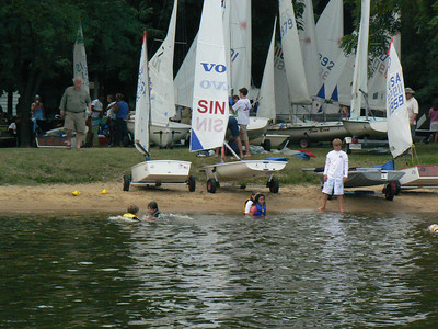 2009 Junior Regatta and CBYRA Midget Championship Eliminations