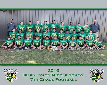Helen Tyson MS Football