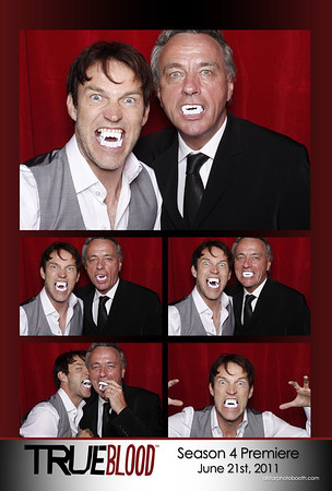 HBO True Blood Season 4 Premiere Party - Seance Room Photo Booth