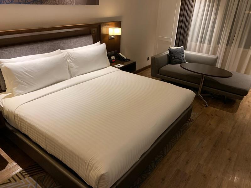 Room at the Putrajaya Marriott Hotel