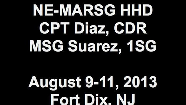 20130809 NE-MARSG Range (Fort Dix, NJ) MOV