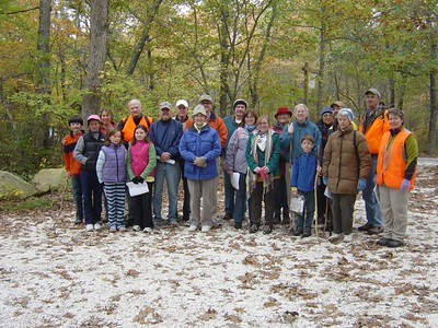Letterboxing Walk - Oct 2008