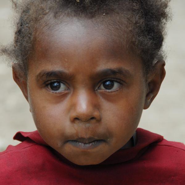 Child, Papua New Guinea