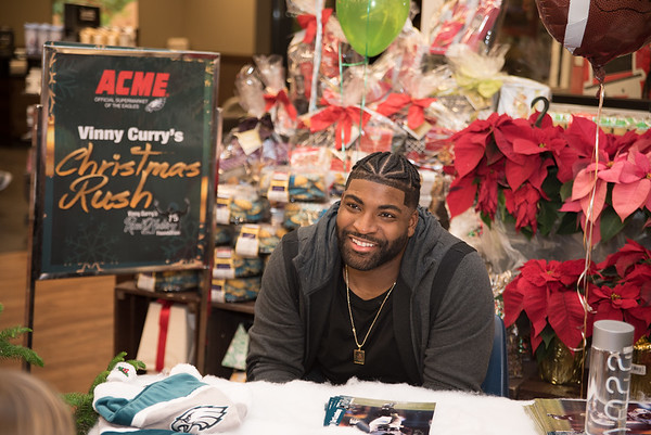 Vinny Curry's Christmas Rush Event 2016