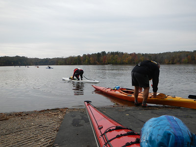 Hector's Fall Paddle at Fountainhead 10-27-13