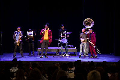 1/16/20: Rebirth Brass Band visits Taft