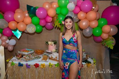 Cynthia's 18th