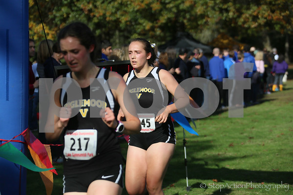 2016-10-22 KingCo 4A XC Championship - JV girls